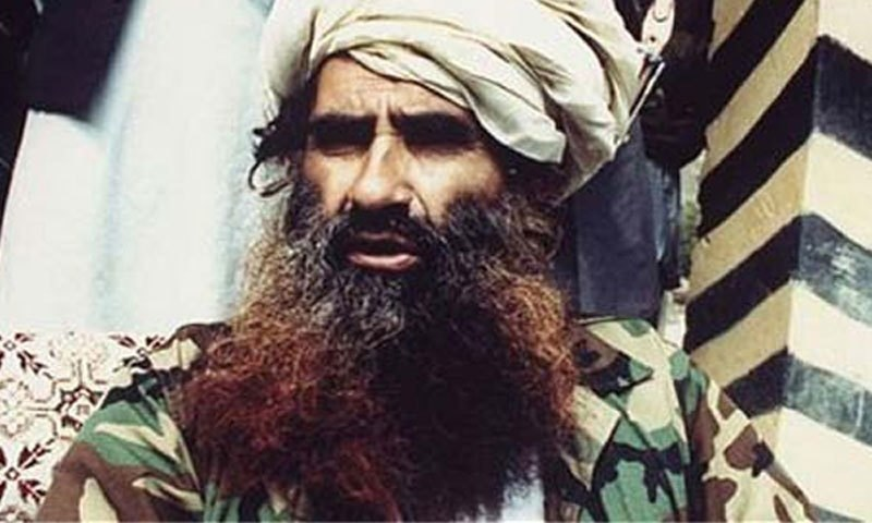 Jalaluddin Haqqani. – DawnNews screengrab