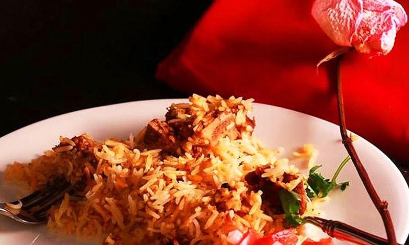 Write essay about ethnic food biryani