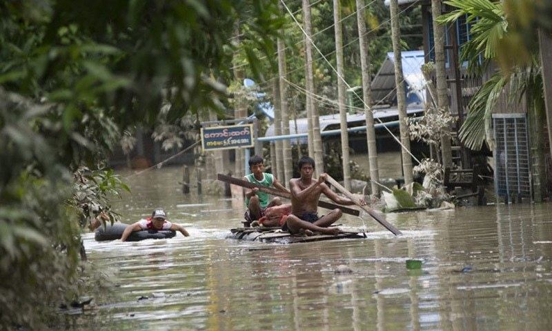 Initial reports indicate that there has been extensive damage to shelters and other infrastructure in camps.—AFP/File