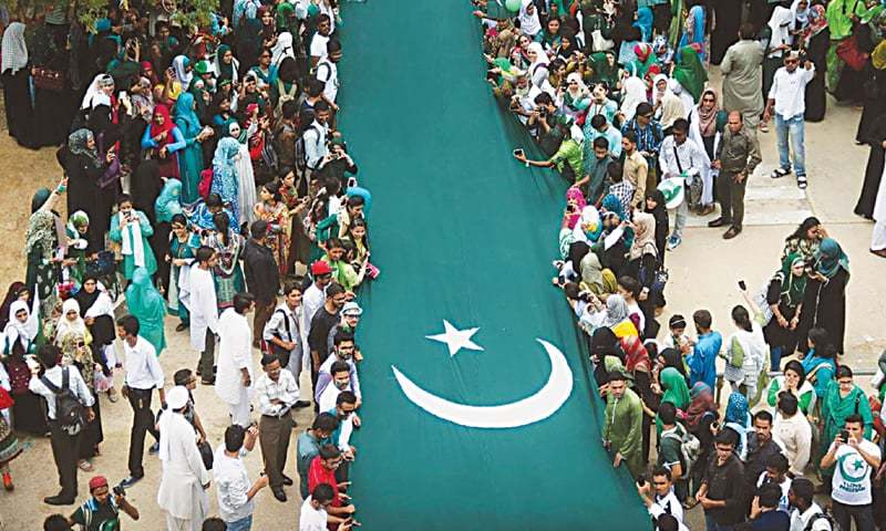 Image result for Pakistani People Celebrate to Independence Day