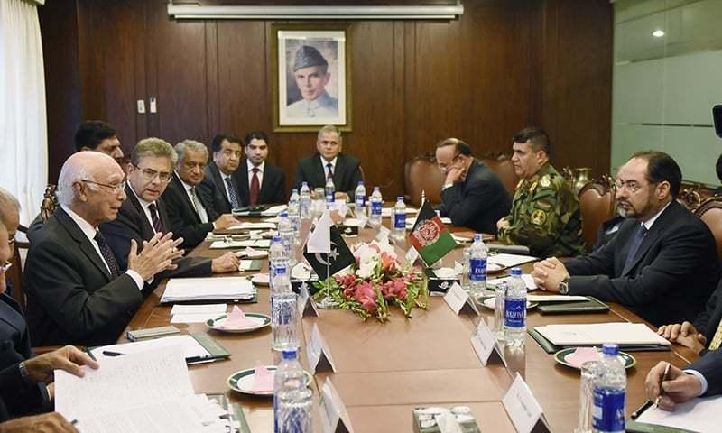 The Afghan delegation gets a cold shoulder in the federal capital.—AP/File
