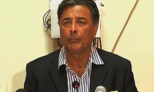 File photo of Punjab home minister Shuja Khanzada