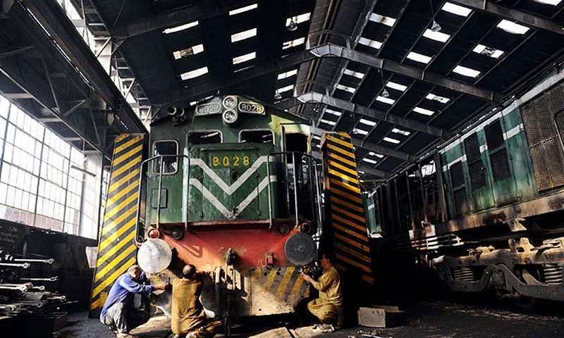 The latest statistics from Pakistan Railways paint a disappointing picture. Down from a 100 million passengers, Pakistan Railways carried a mere 47 million passengers in the 2013-14 fiscal year. —AFP