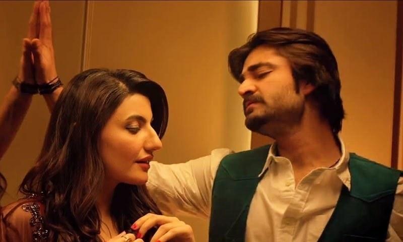 Hamza Ali Abbasi in a scene from 'JPNA'. — Screenshot
