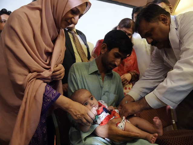Injectable polio vaccine launched in Pakistan