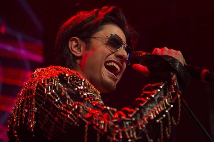 Ali Zafar as the 'Rockstar'. — Publicity photo