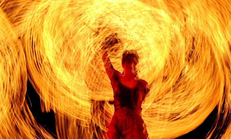 بیلاروس میں آگ کا میلہ