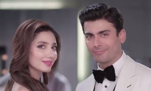 Mahira and Fawad in a still from the ad