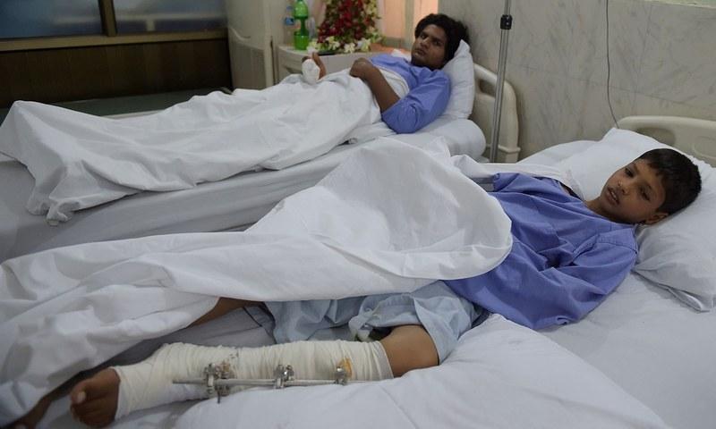 ہندوستانی فوج کی فائرنگ سے ہونے والی تباہی