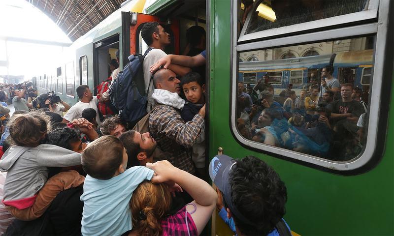 شامی پناہ گزینوں کو یورپ نقل مکانی میں مشکلات