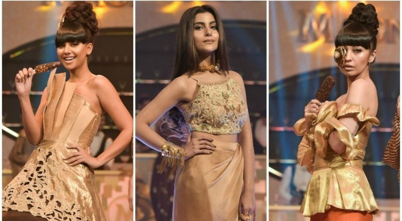 The fashion set and local stars celebrated sweets with a fashion show — Publicity photo