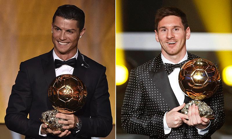 It's Messi vs Ronaldo again as Ballon d'Or date announced - Sport - DAWN.COM
