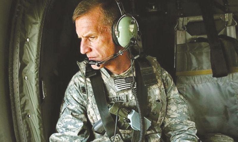 RETD US general Stanley McChrystal served in Afghanistan from 2003-2008.