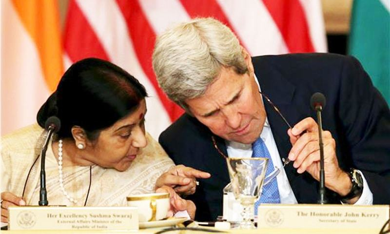 US reiterates its support for India's membership in the Nuclear Suppliers Group.—Reuters
