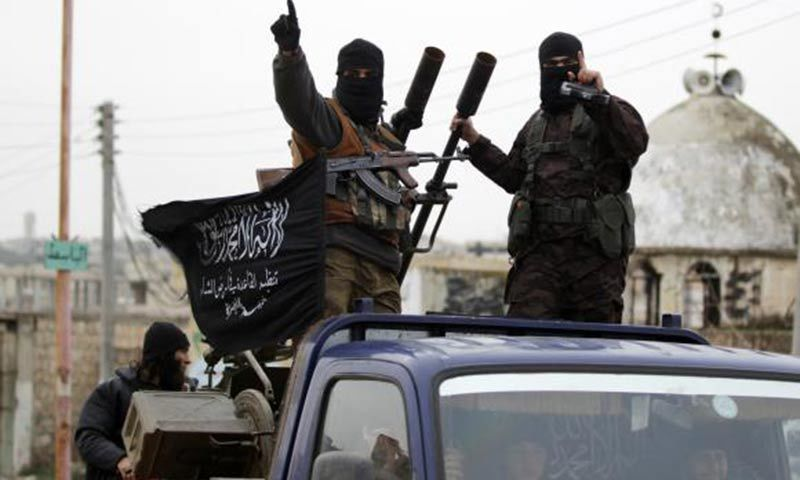 The 'moderate' rebels handed over their weapons and ammunition to Al-Nusra for safe passage. -Reuters/File