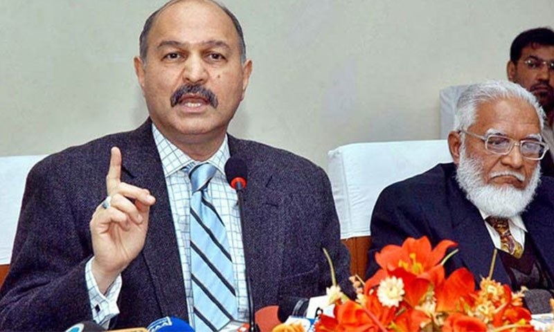 Chairman Senate Standing Committee on Defence, Mushahid Hussain Syed. — APP/File
