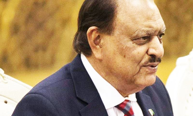 No change in CPEC route, says president - Pakistan - DAWN.COM