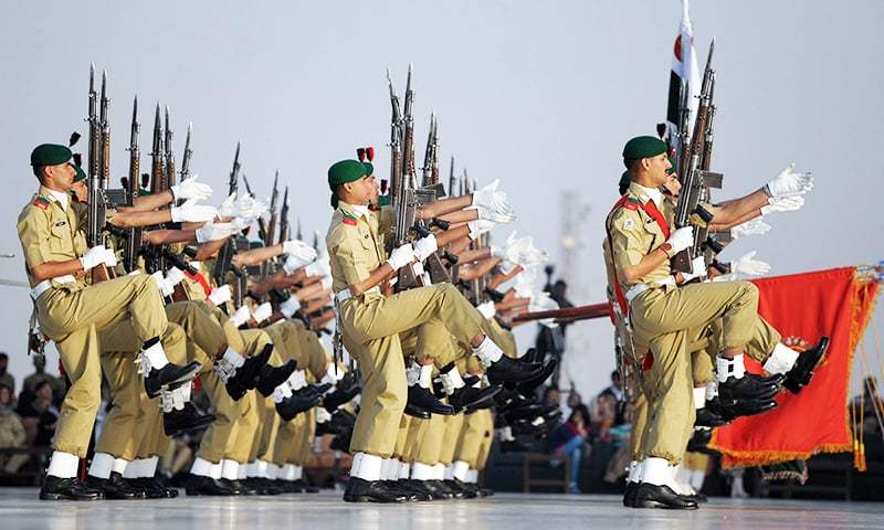 The Kakul academy annually inducts two batches of around 500 cadets each.—AFP/File