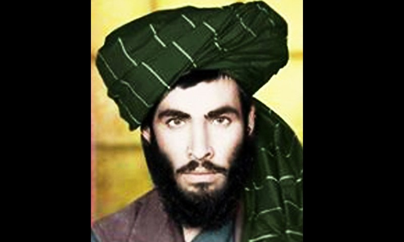 This handout photograph taken in 1978 and obtained from the Afghan Taliban on October 12, 2015 shows the late Afghan Taliban leader Mullah Omar posing for a portrait when he was a student at a madrassa in Kandahar. -AFP