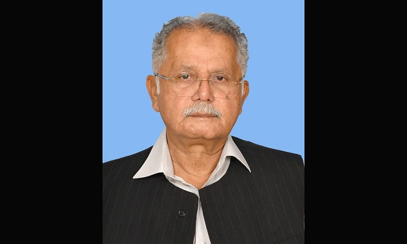Sardar Amjad Farooq is the cousin of estranged PML-N leader Sardar Zulfiqar Khosa and was elected from the D.G Khan's NA-171 constituency. — Courtesy NA.gov.pk