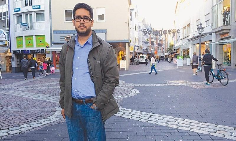 GERMAN author of Pakistani origin Hasnain Kazim has struggled because of his migrant background. —Photo by writer