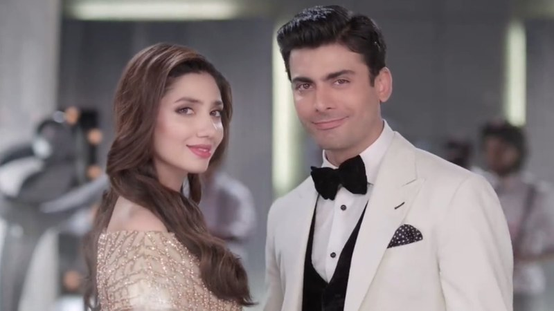 Fawad had also appeared in a Bollywood movie earlier with Sonam Kapoor whereas Mahira's debut flick is slated for release next year.