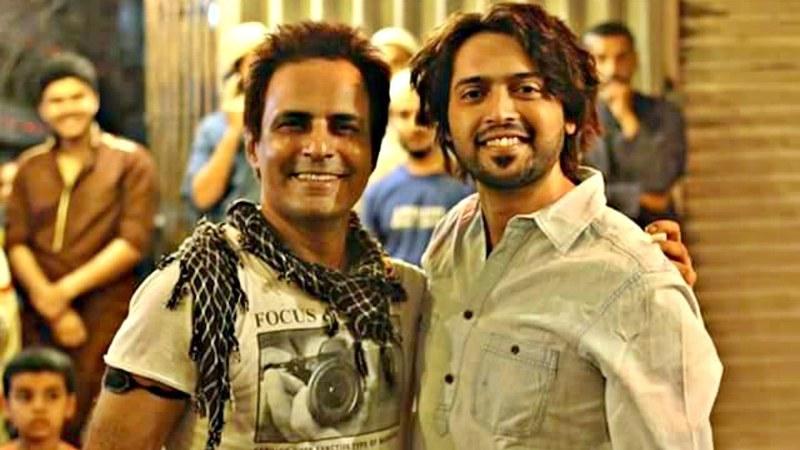Mah-e-Meer director Anjum Shehzad will reunite with his lead star Fahad Mustafa for the latter's first film production, Band Toh Ab Bajay Ga - Photo courtesy Anjum Shehzad's Facebook page
