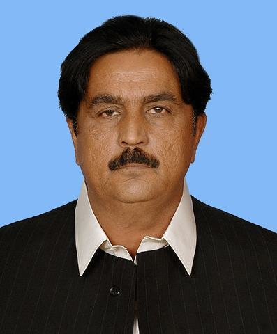 PML-N leader Siddique Baloch─photo courtesy: NA website.