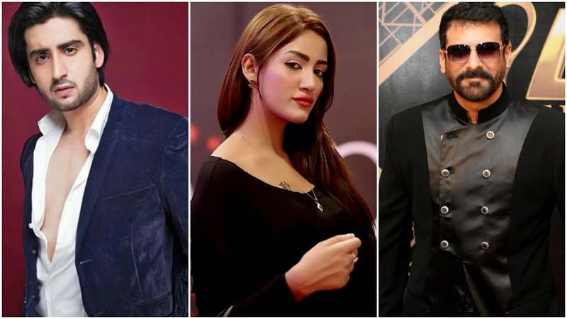 Agha ali, Mathira and Shamoon Abbasi will be joined by senior actors Sajid Hasan and Ghulam Mohiuddin in the film's cast