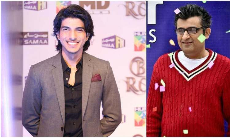 Mohsin Abbas Haider (left) has bagged his second film project, a rom-com directed by Jawad Bashir (right)