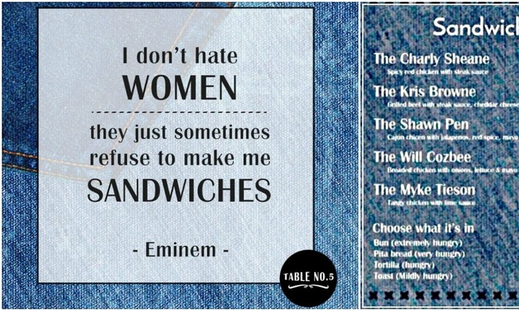 Islamabad-based restaurant Table No 5 sparked off a social media controversy for its misogynistic marketing campaign