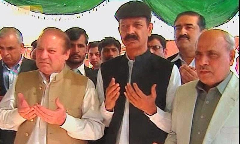 Nawaz said that the groundbreaking ceremony of the Lahore-Multan motorway would be held soon. —DawnNews screengrab