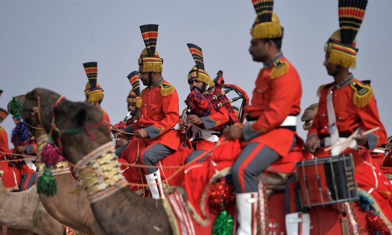 پاکستان کا منفرد فوجی بینڈ