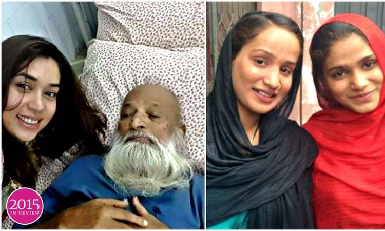 Where does Komal Rizvi's infamous selfie with Edhi fall on the year's spectrum of social media wins/fails? And what about the 'Justin Bibis'?
