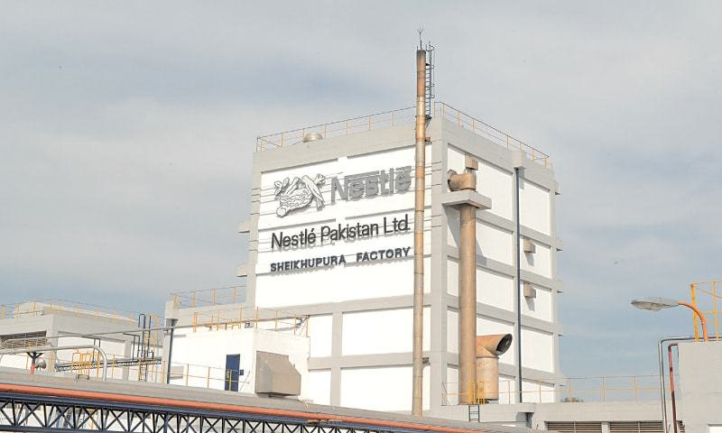 """Nestlé Pakistan's Sheikhupura plant. """"[Last] year continued to be a challenging year owing to the adverse security situation coupled with uncertainties around the political environment and the ongoing energy crisis, resulting in regular disruptions of business,"""" the company's directors said in their report to shareholders in 2014. """"Growth was fuelled by effective product mix management and optimisation of our value chain."""""""