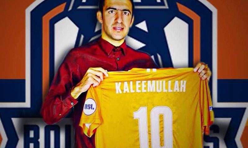 Kaleemullah's signing for United Soccer League side Tulsa Roughnecks provided for some relief. — Photo by Taimur Khan