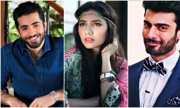 (L-R): Sheharyar Munawar, Mahira Khan, Fawad Khan.