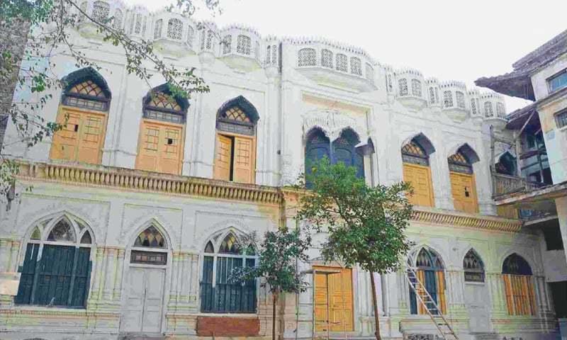 A file photo of the Bhai Beeba Singh gurdwara in Peshawar.—White Star