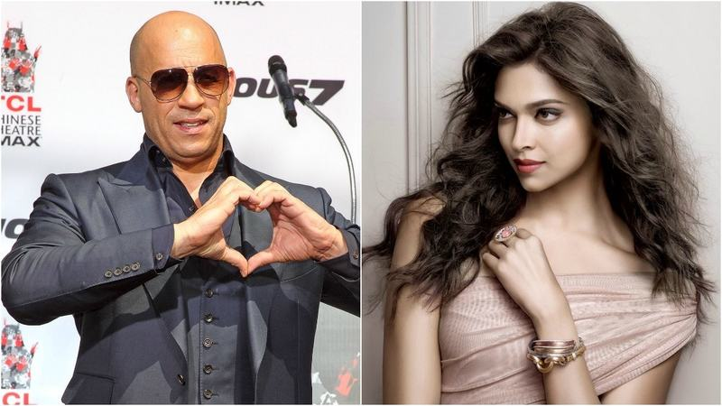 Will the leading man Vin Diesel be romancing Deepika in the upcoming movie?