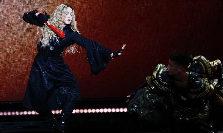 The Singapore leg of pop superstar Madonna's global Rebel Heart Tour has been restricted to fans aged 18 and above.─AFP/File