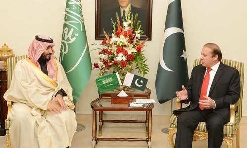 Caption It was agreed that the two countries would cooperate in developing an effective counter narrative to defeat the extremist mindset. (Dawn.com)