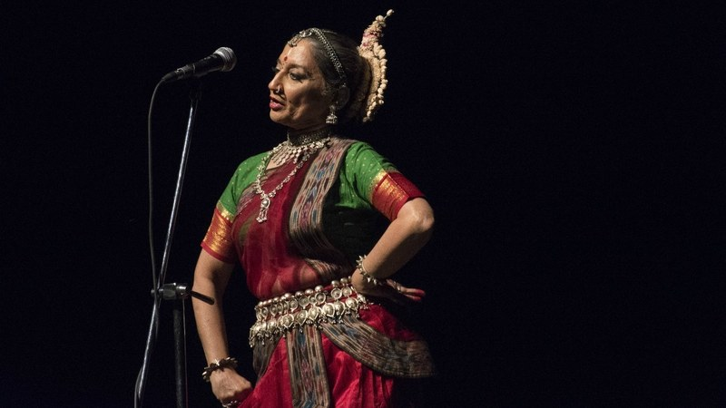 The extraordinary dancer talks about how her craft fared under General Zia's regime and more. —Photo by author
