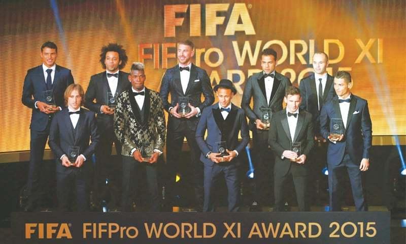 Messi Wins Ballon DOr For Record Fifth Time
