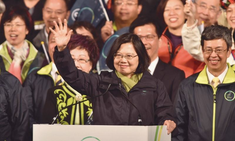 Tsai Ing-wen wins Taiwan Leadership Election
