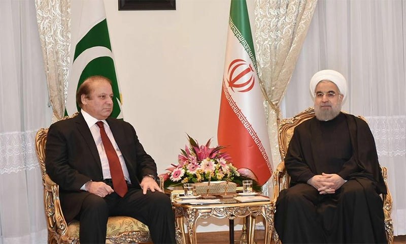 Prime Minister Nawaz Sharif in meeting with Iranian President Hasan Rouhani.─ Photo: PMO