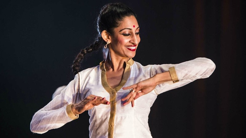 I was challenged by the rhythmic complexity of kathak, she says