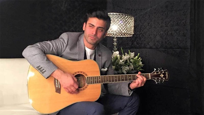 At the film's kick off event he entertained the crowd with a rendition of Alamgir's famous song 'Albela Rahi'  ─ Fawad Khan Facebook page