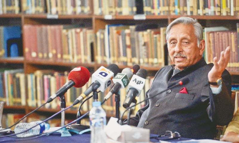 Member of the Rajya Sabha and former Indian diplomat Mani Shankar Aiyar