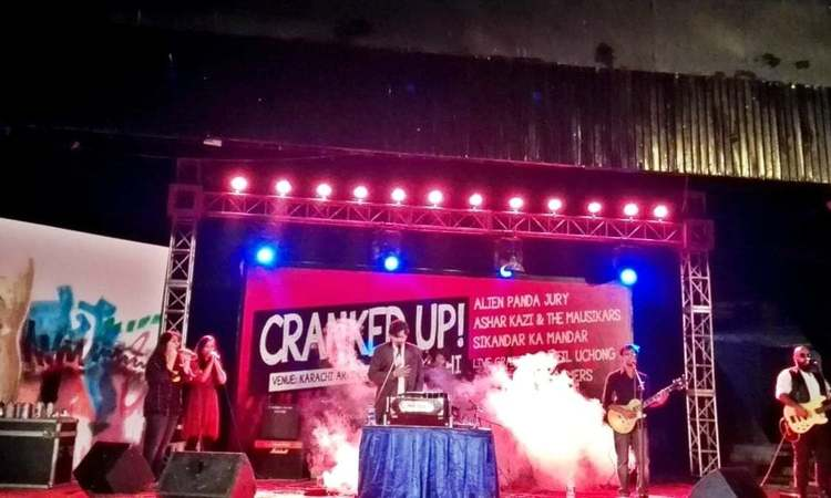 When the event 'Cranked Up' was announced, it sounded like just the night Karachiites needed
