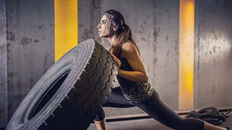 Mantaha maintains her high-intensity workout will torch calories, speed up metabolism and boost energy levels.